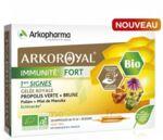 Acheter Arkoroyal Immunité Fort Solution buvable 20 Ampoules/10ml à CANALS
