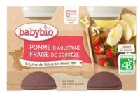 Babybio Pot Pomme Fraise à CANALS