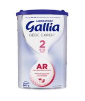 Gallia Bébé Expert AR 2 Lait en poudre B/800g à CANALS