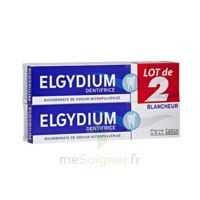 Elgydium Dentifrice Duo Blancheur Tube 2x75ml à CANALS