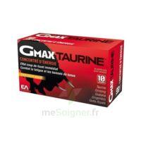 Gmax-taurine+ Solution Buvable 30 Ampoules/2ml à CANALS