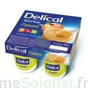 DELICAL NUTRA'POTE DESSERT AUX FRUITS, 200 g x 4 à CANALS