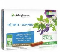 ARKOFLUIDE BIO ULTRAEXTRACT Solution buvable détente sommeil 20 Ampoules/10ml à CANALS