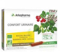 Arkofluide Bio Ultraextract Solution buvable confort urinaire 20 Ampoules/10ml à CANALS