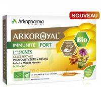 Arkoroyal Immunité Fort Solution Buvable 20 Ampoules/10ml à CANALS