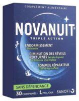 Novanuit Triple Action Comprimés B/30 à CANALS