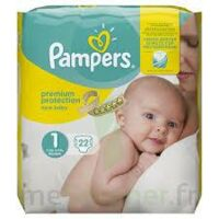 PAMPERS NEW BABY PREMIUM PROTECTION, taille 1, 2 kg à 5 kg, sac 22 à CANALS
