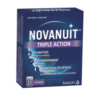 NOVANUIT Triple action Gélules B/30 à CANALS