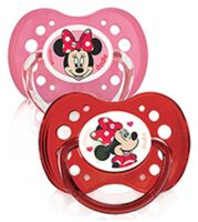 Dodie Disney sucettes silicone +18 mois Minnie Duo à CANALS