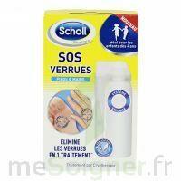 Scholl SOS Verrues traitement pieds et mains à CANALS