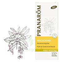 PRANAROM Huile végétale bio Macadamia 50ml à CANALS