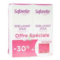 Saforelle Solution soin lavant doux 2*500ml+pochette à CANALS