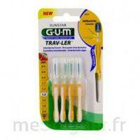 Gum Trav - Ler, 1,3 Mm, Manche Jaune , Blister 4 à CANALS