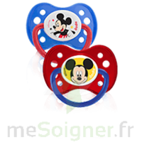 Dodie Disney Sucette anatomique silicone +6mois Mickey Lot/2 à CANALS