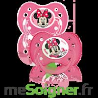 Dodie Disney Sucette anatomique silicone +6mois minnie Lot/2 à CANALS