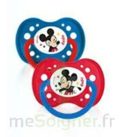Dodie Disney sucettes silicone +18 mois Mickey Duo à CANALS