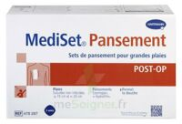 Mediset® Set De Pansement Post Op Avec Coupe-fil Pour Grandes Plaies - Boîte De 3 Soins à CANALS