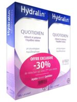 Hydralin Quotidien Gel lavant usage intime 2*200ml à CANALS