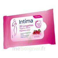 Intima Gyn'Expert Lingettes Cranberry Paquet/20 à CANALS