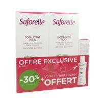 Saforelle Solution Soin Lavant Doux 2*500ml+100ml à CANALS