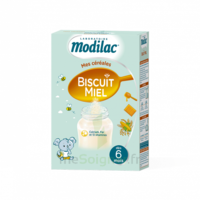 Modilac Céréales Farine Biscuit miel à partir de 6 mois B/300g à CANALS