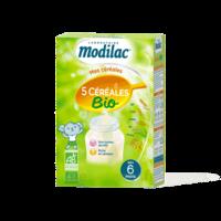 Modilac Céréales Farine 5 Céréales bio à partir de 6 mois B/230g à CANALS