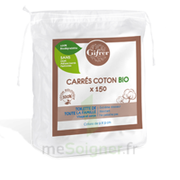 Gifrer Carré Coton Bio Sachet/150 à CANALS