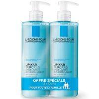 Lipikar Savon liquide surgras peau sèche et très sèche 2*400ml à CANALS