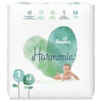 Pampers Harmonie Couche T1 jumbo paquet/68 à CANALS