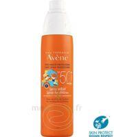Avène Eau Thermale Solaire Spray Enfant 50+ 200ml à CANALS