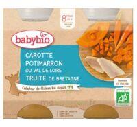 Babybio Pot Carotte Potimarron Truite à CANALS