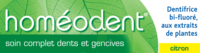 Acheter Boiron Homéodent Soin Complet Dents et Gencives Pâte Dentifrice Citron 2T/75ml à CANALS