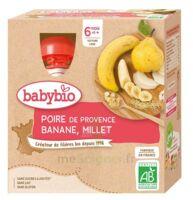 Babybio Gourde Poire Banane Millet à CANALS