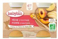Babybio Pot Pêche Pomme à CANALS