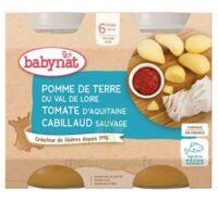 Babynat Pot Pomme De Terre Tomate Cabillaud à CANALS