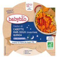 Babybio Assiette Bonne Nuit Légumes Quinoa à CANALS