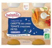Babybio Pot Bonne Nuit Légumes Pâtes à CANALS